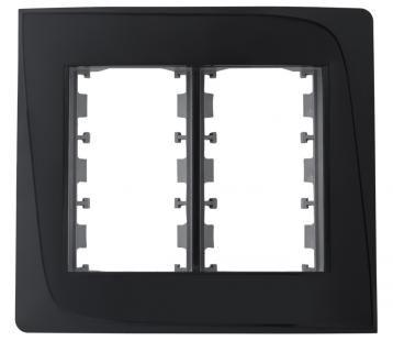 Placa e Bastidor 4x4 para 6 Módulos Pezzi Tendenza