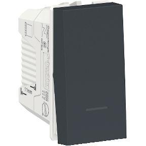 Módulo Interruptor Simples Schneider Orion Preto