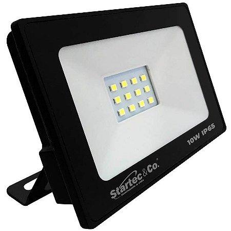 Projetor de LED Startec 10W 6500K (Luz Fria)