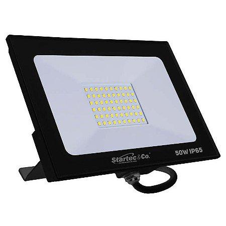 Projetor de LED Startec 100W 6000K (Luz Fria)