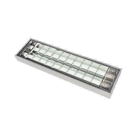 Luminária Sobrepor Blan Small 2x10W