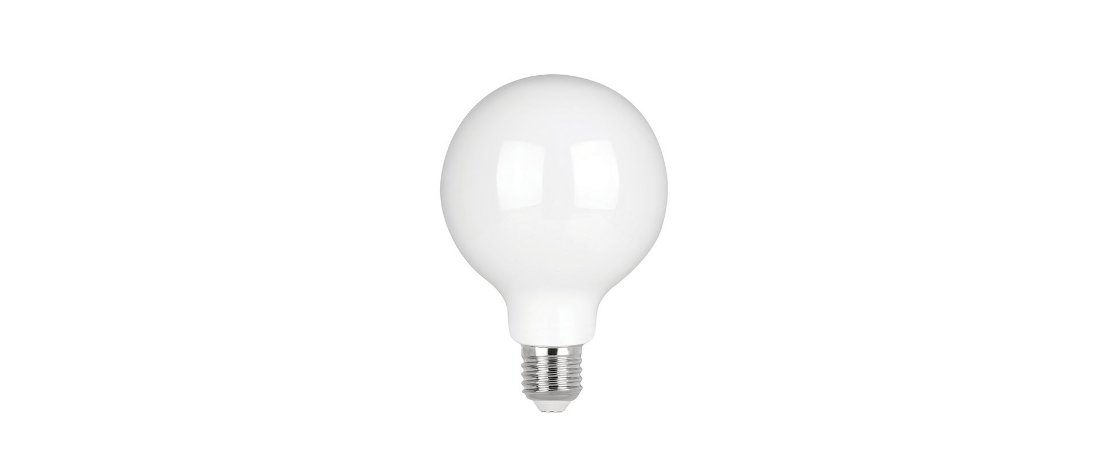 Lâmpada Ballon G95 LED Stella 4W 2700K (Luz Quente)