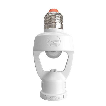 Sensor de Presença Exatron com Soquete E27 XControl