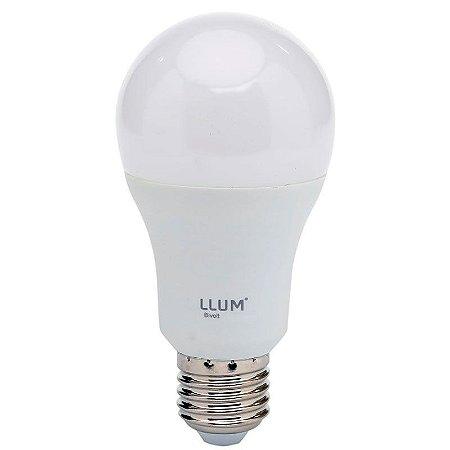Lâmpada Bulbo LED LLUM 12W 6500K (Luz Fria)