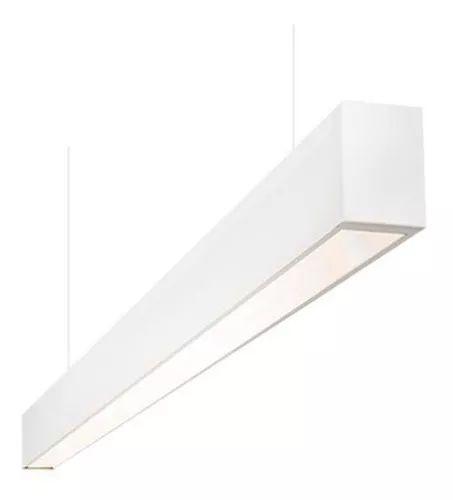 Pendente Office Forma da Luz Branco