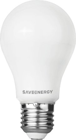 Lâmpada Bulbo LED 8W 3000K (Luz Quente)