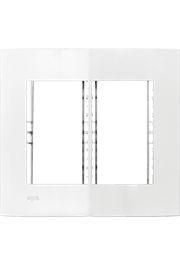 Placa e Bastidor Iriel Iris 4x4 para 6 Módulos