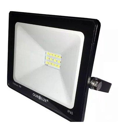 Projetor LED Ourolux 50W 6500K (Luz Fria)
