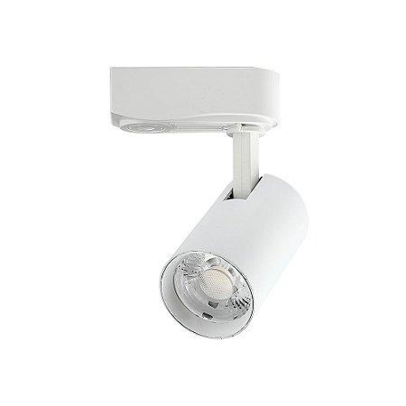 Spot LED para Trilho Nordecor 7W 3000K (Luz Quente)