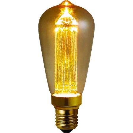 Lâmpada LED Vintage ST64 Guide 3W 2.000K E27 Bivolt