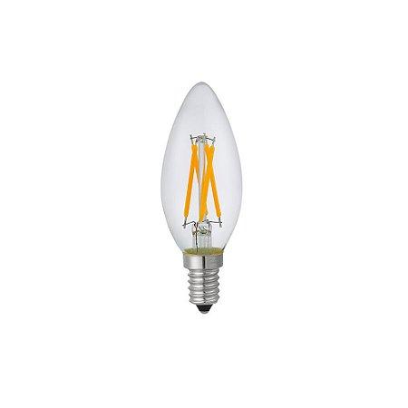 Lâmpada LED Vela C35 Nordecor 4w 2.400K E14 Bivolt