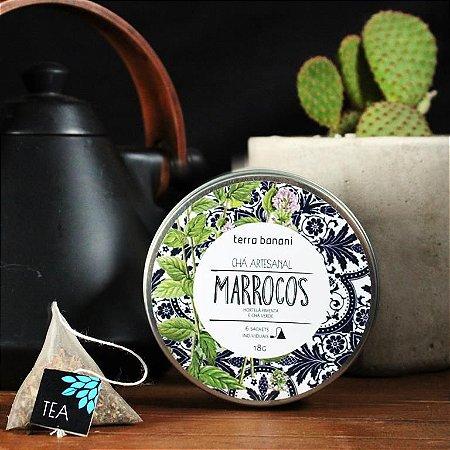 LATA CHÁ MARROCOS - 6 sachês
