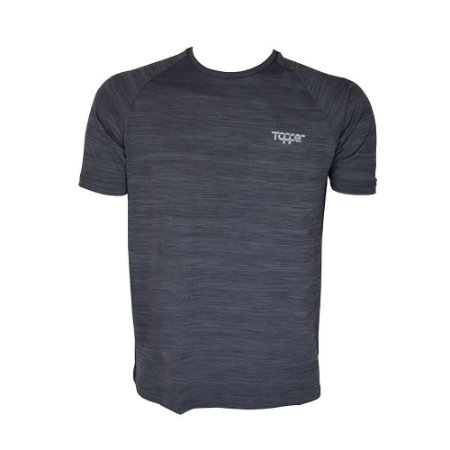CAMISA TOPPER PERFORMANCE CINZA