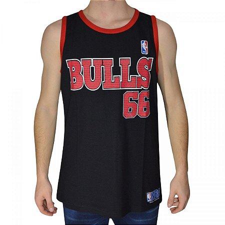 REGATA RETRÔ NBA BULLS PRETA