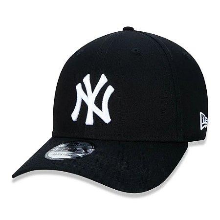 BONÉ NEW ERA 940 NEW YORK YANKEES PRETO/BRANCO