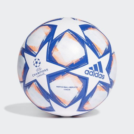 BOLA ADIDAS CAMPO UCL FINALE CLUB BCO/LRJ