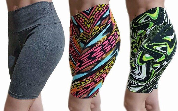 Shorts Ciclista Suplex Plus Size