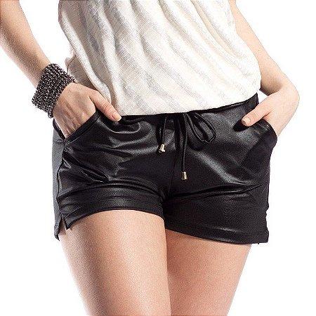 Shorts Cirrê Feminino Cintura Alta