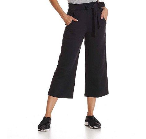 Calça Pantalona Pantacourt Feminina