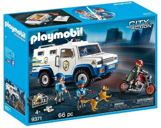 Playmobil City Action Assalto Ao Carro Forte 9371