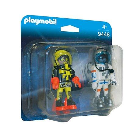 Playmobil 9448 Blister Astronautas Space Marte