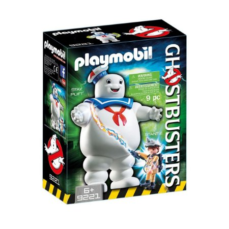 Playmobil Ghostbusters Homem Marshmallow Stay Puft 9221