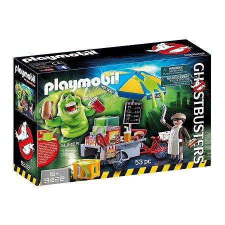 Playmobil 9222 Geléia Com Carrinho De Hot Dog - Playmobil