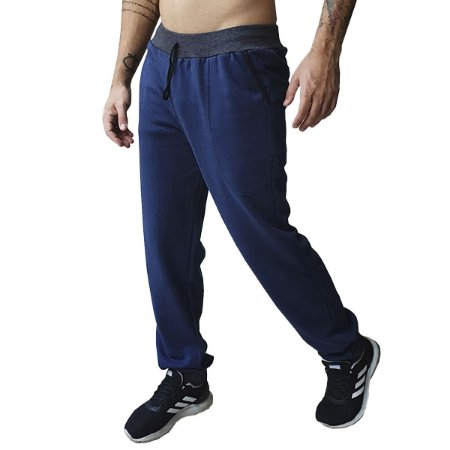 Calça Moletom Masculina (Kit com 3 Unidades)