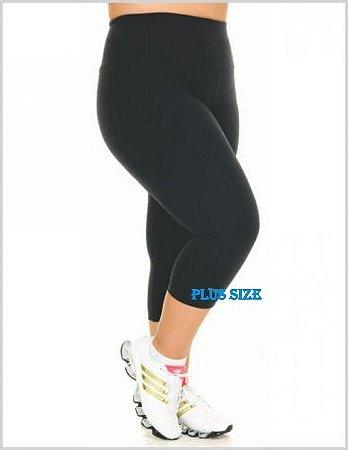 Calça Corsário Lisa Plus Size (Kit com 5 Unidades)