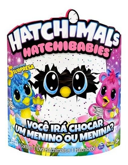 Hatchimals Hatchibabies Cheetree Figura Surpresa 1859 Sunny