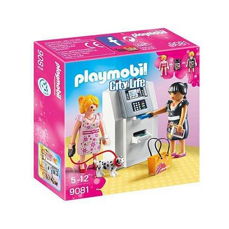 Caixa eletrônico Playmobil