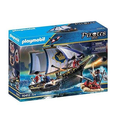 Caravela dos soldados Ingleses Playmobil
