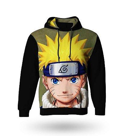 Casaco de Moletom Naruto Uzumaki