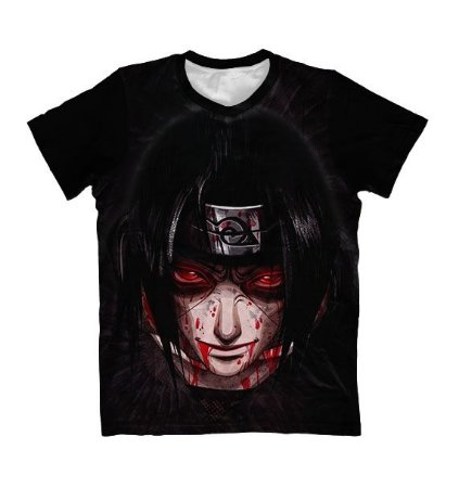 Camiseta Itachi uchiha - Naruto