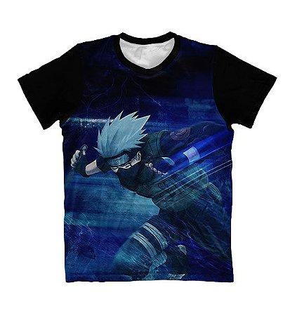 Camiseta Kakashi Hatate Correndo - Naruto