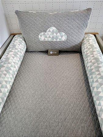 Kit Berço M.Matelassada e algodão (4 peças)