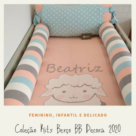 Kit Berço Premium 6 peças