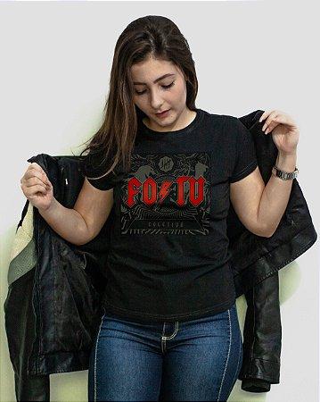 [Edição limitada Dia Mundial do Rock®] Camiseta Regular Fortù Feminina AC/DC