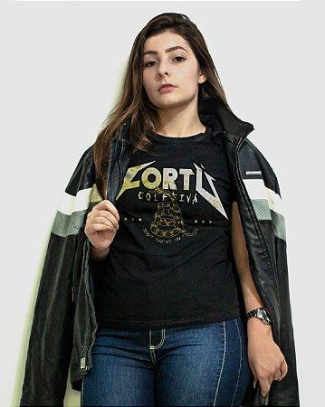 [Edição limitada Dia Mundial do Rock®] Camiseta Regular Fortù Feminina Metallica