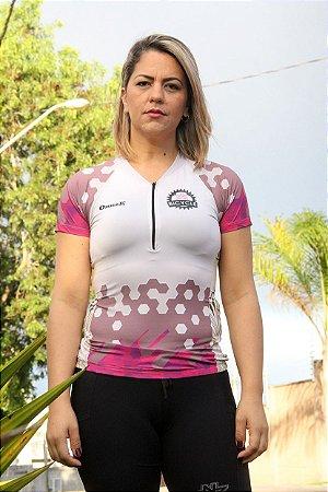 camisa ciclista feminina  mixtures