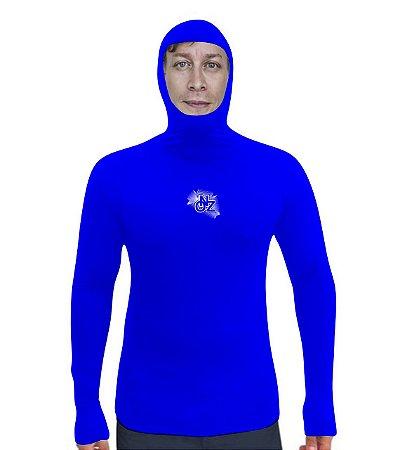 camisa proteção uv estilo balaclava