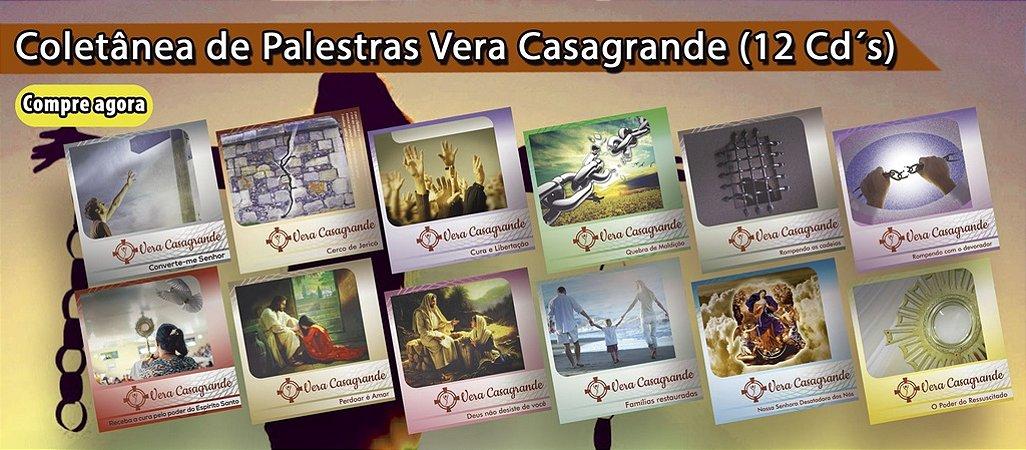 Coletânea CD's de Pregação Vera Casagrande - 12 Cd's