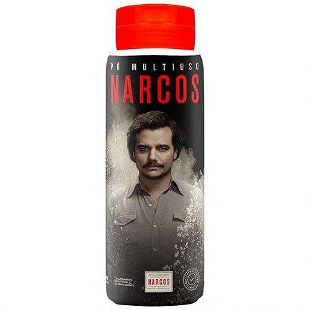 Pó Multiuso Narcos, Talco Antisséptico Refrescante 100g | PRÉ-VENDA