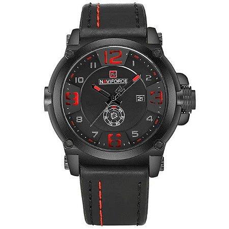 Relógio Masculino Militar Esportivo Naviforce NF9099BWB