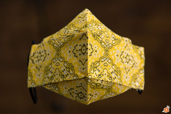 F - Bandana Amarela