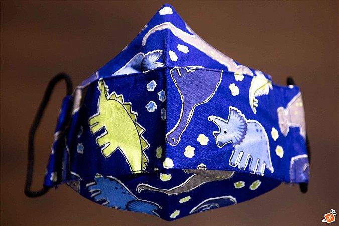 K - Dino Azul