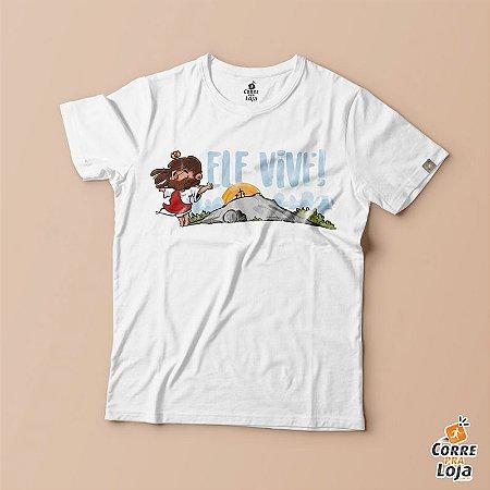 T-Shirt BRANCA-Ele Vive