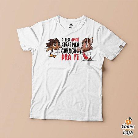 T-Shirt BRANCA-Teu Amor