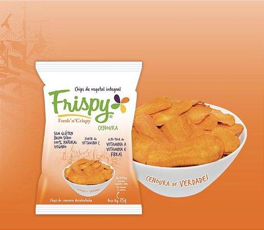 Chips De Cenoura 25g - Frispy