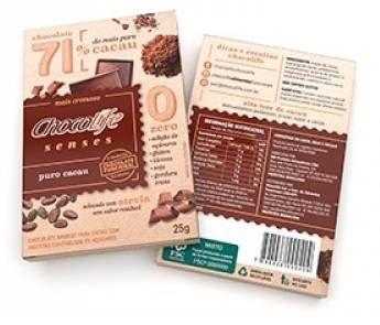 Chocolife Senses Puro Cacau 25g